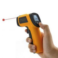 Medidor de temperatura a laser infravermelho