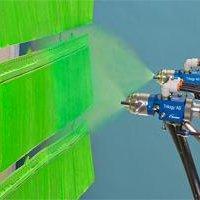 Pintura eletrostática para alta temperatura
