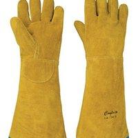 Luva de proteção em raspa ignifugada - L42RR55 - Alta Temperatura
